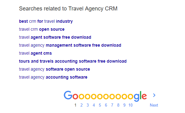 Google related search phrases